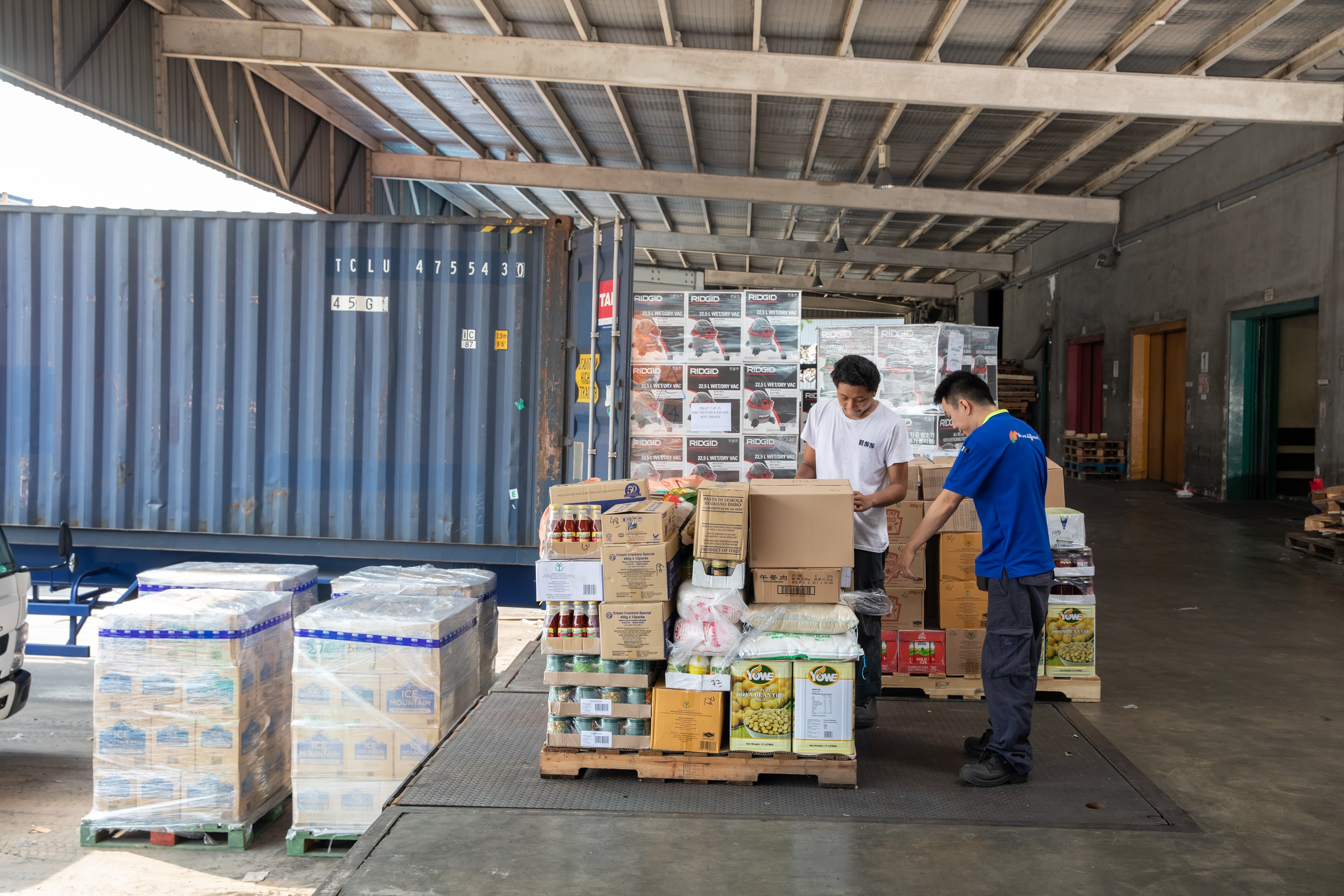 Logistics support, Ship supplies vessels, Warehouse Shanghai Singapore Panama City, ESS
