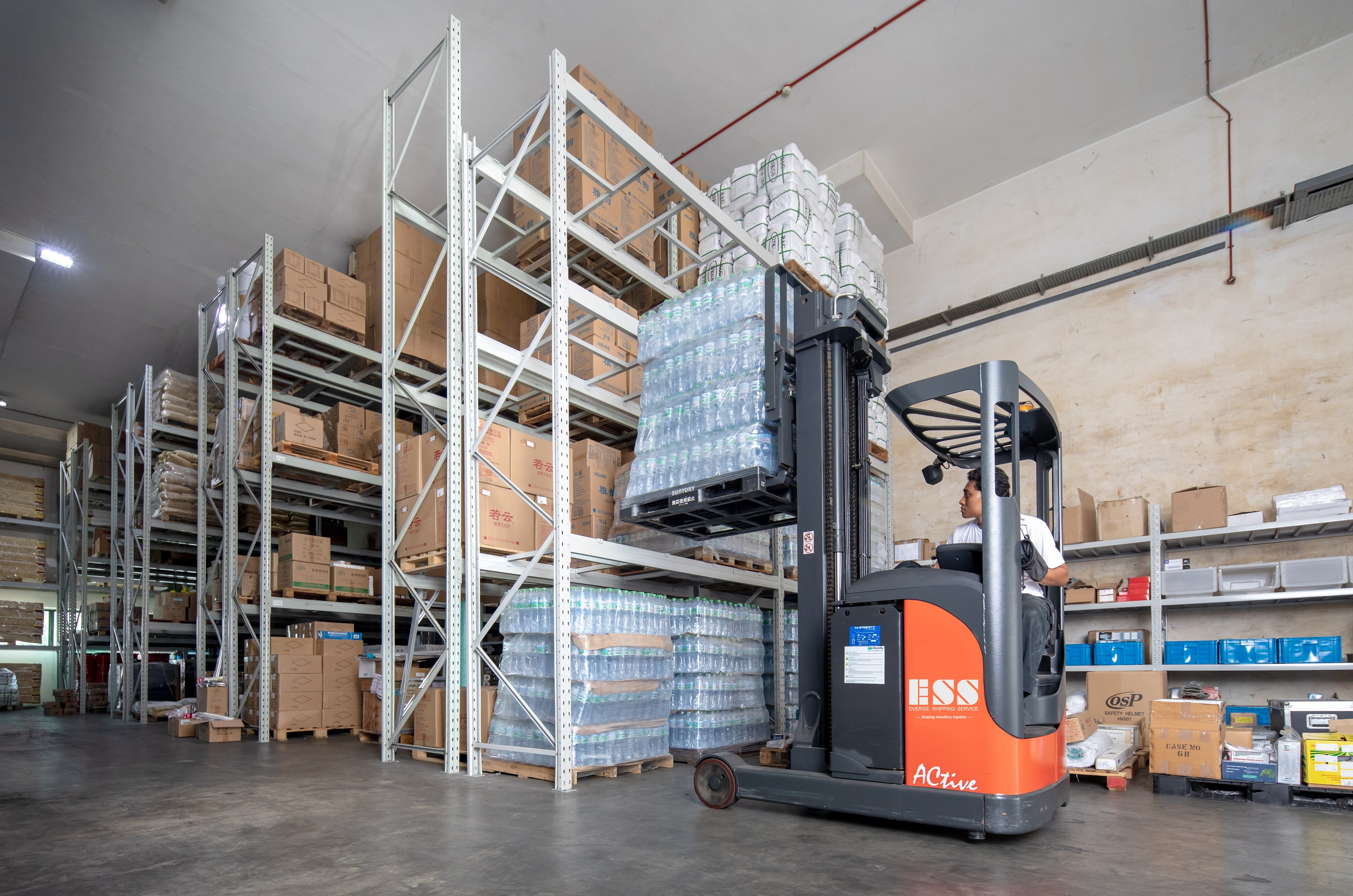 Own Warehouse, Everise Shipping Service, Technology at work